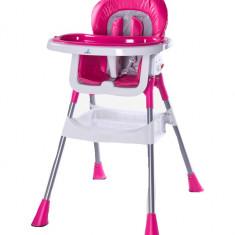 Scaun de masa pentru copii CARETERO PopCTP1R, Roz