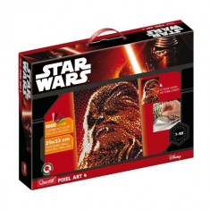 Pixel Art Star Wars Chewbacca - Jocuri arta si creatie Quercetti