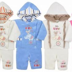 Compleu de iarna pentru bebelusi-KOALA Circus 04-510, Roz