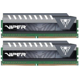 Memorie Patriot Viper Elite Grey 8GB DDR4 3200 MHz CL16 Dual Channel Kit - Memorie RAM