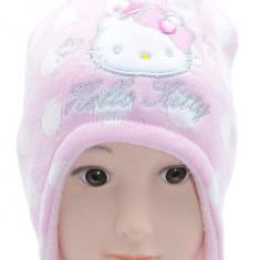 Caciula de iarna pentru fetite Hello Kitty-Sun City HO4388R