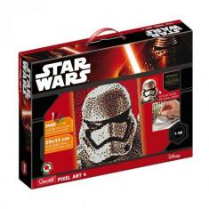Pixel Art Star Wars Stormtrooper - Jocuri arta si creatie Quercetti