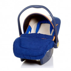 Scoica Auto-4BABY COLBY DELUXE 0-13 Kg CLY2A, Albastru - Scaun auto copii 4baby, 0+ (0-13 kg)