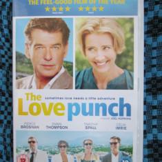 THE LOVE PUNCH (FILM COMEDIE - 1 DVD ORIGINAL cu PIERCE BROSNAN - CA NOU!!!), Engleza