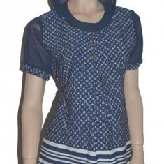Bluza cu maneca scurta pentru gravide NEWSTAR NWS20A, Albastru - Bluza gravide
