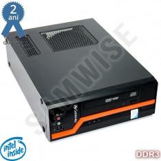 Calculator GATEWAY DS10G SFF, Intel E5300 2.6GHz, 2GB DDR3, 80GB, DVD, Garantie! - Sisteme desktop fara monitor Gateway, Intel Pentium, 2501-3000Mhz, 40-99 GB, LGA775