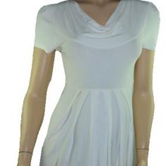 Rochie pentru gravide-DUE DDE2A, Alb