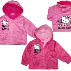 Geaca de primavara-toamna pentru fetite E PLUS M Hello Kitty HK 5128573, Fucsia
