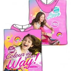 Halat de baie Poncho pentru fetite Soy Luna-Sun City QE1785R