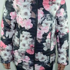 Geaca captusita cu model floral pentru fetite UMBRO GUF-66, Roz