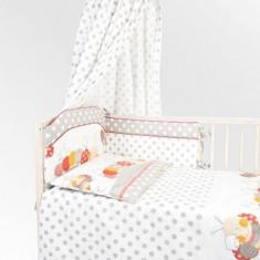 Set Lenjerie de pat pentru copii din 2 piese Blanca F52-2 - Lenjerie pat copii