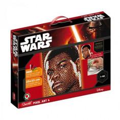 Pixel Art Star Wars Finn - Jocuri arta si creatie Quercetti