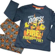 Pijama pentru baieti Minions-Sun City PH2103, Gri