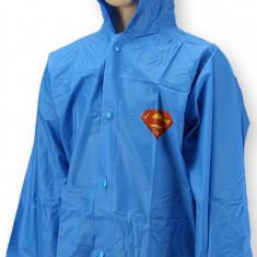Pelerina de ploaie pentru baieti Super Man-Setino 750-078A, Albastru - Pelerina ploaie