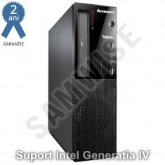 Sistem Incomplet Lenovo E73 DT, Intel H81, 1150, Suport Procesoare GEN 4, DDR3
