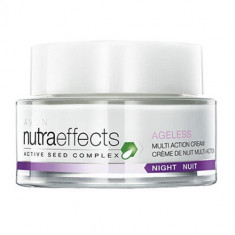 CREMA DE NOAPTE NUTRA EFFECTS AGELESS ADVANCED MULTI ACTION +35 - Crema antirid Avon