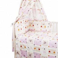 Set Lenjerie de pat pentru copii din 3 piese Blanca F29-3 - Lenjerie pat copii