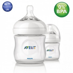 Set 2 biberoane PHILIPS AVENT Natural SCF690/27