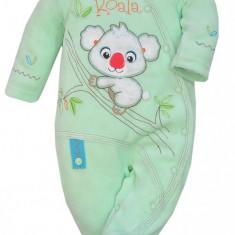 Salopeta cu maneca lunga pentru bebelusi-KOALA Mis Koala 03-850V, Verde