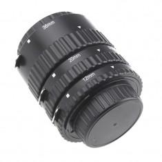 Tuburi de extensie macro cu contacte Auto focus pentru Nikon - Inel macro obiectiv foto