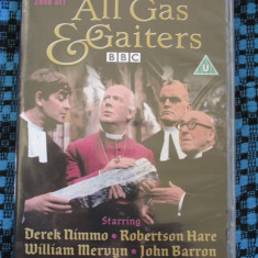 ALL GAS AND GAITERS (2 DVD-uri  ORIGINALE, SERIAL BBC BRITANIC DE COMEDIE, 1966), Engleza