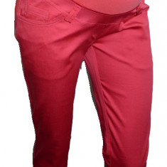 Pantaloni casual pentru gravide-DUE PCD1CO, Coral - Pantaloni gravide
