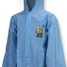 Pelerina de ploaie pentru baieti Minions-Setino 750-052A, Albastru - Pelerina ploaie