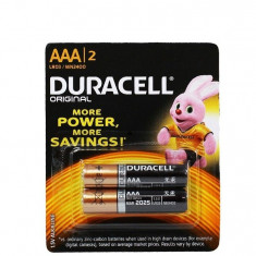 Baterii Duracell R3 2 buc - Baterie Aparat foto Duracell, Tip AAA (R3)