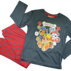 Pijama pentru baieti Paw-Sun City PH2028, Antracit