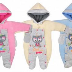 Salopeta de iarna pentru bebelusi-KOALA Sowa 04-580