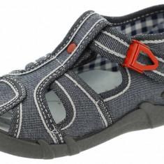 Sandale pentru baieti Renbut RNB10-G, Gri - Sandale copii