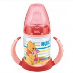 Biberon Nuk First Choice Winnie the Pooh 6-18 luni 150 ml 743348-R, Rosu