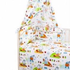 Set Lenjerie de pat pentru copii din 2 piese Blanca F32-2 - Lenjerie pat copii