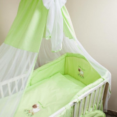 Set Lenjerie de pat pentru copii Ankras Sweet dreams Sheep 5 piese LPASDS5-V - Lenjerie pat copii