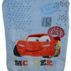 Paturica groasa Cars 100 x 90 cm-Disney PC2AL, Albastru - Lenjerie pat copii