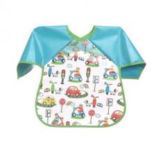 Baveta pentru copii si bebelusi cu maneci BabyOno 870-A - Accesorii masa