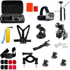 Kit 35 in 1 accesorii pentru camere sport - Stopuri Moto