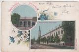 SALUTARI DIN BUZIAS  GRAND HOTEL  MAGAZIN  EDITURA  HERRLING  KAROLY  CIRC.1904, Circulata, Printata