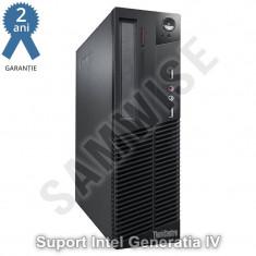 Sistem Incomplet Lenovo M93P DT, Intel Q87, 1150, Suport Procesoare GEN 4, DDR3