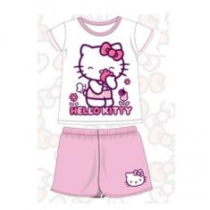 Pijama pentru fetite Hello Kitty SETINO 830-757, Fucsia