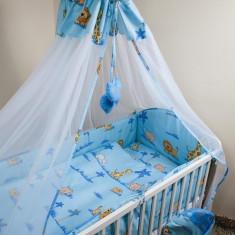 Set Lenjerie de pat pentru copii Ankras Zoo 2 piese LPAZ21-A - Lenjerie pat copii