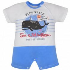 Salopeta de vara pentru baietei-Koala Moby Dick 04-968A, Albastru