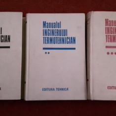 Manualul Inginerului Termotehnician (3 Volume) - 1986 - Carti Energetica