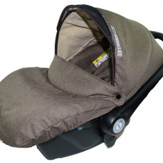 Scoica Auto BabyActive Carlo (0-10 Kg) SCBA4M, Maro - Scaun auto copii