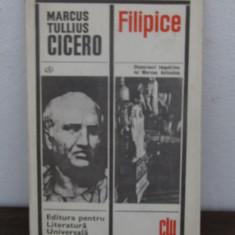 MARCUS TULLIUS CICERO - FILIPICE