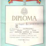 Diploma Cantarea Romaniei, premiul I - Diploma/Certificat