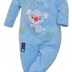 Salopeta cu maneca lunga pentru bebelusi-KOALA Mis Koala 03-850A, Albastru
