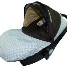Scoica Auto BabyActive Carlo (0-10 Kg) SCBA2C, Crem - Scaun auto copii