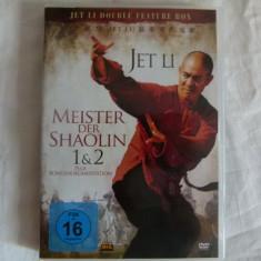 Master der Schaolin 1, 2 - Jet Li - dvd - Film actiune Altele, Altele