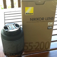 Obiectiv foto Nikon 55-200 - Obiectiv DSLR